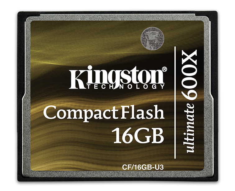 Карта памяти CompactFlash 16.0 Гб, KINGSTON ULTIMATE 600x