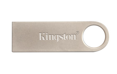 Флэш-диск 64 Гб Kingston ''Data Traveler SE9'', серебристый