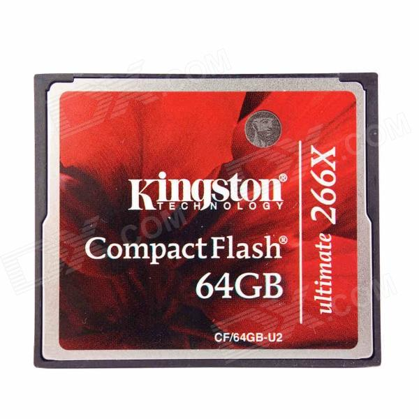 Карта памяти CompactFlash 64.0 Гб, KINGSTON ULTIMATE 266x