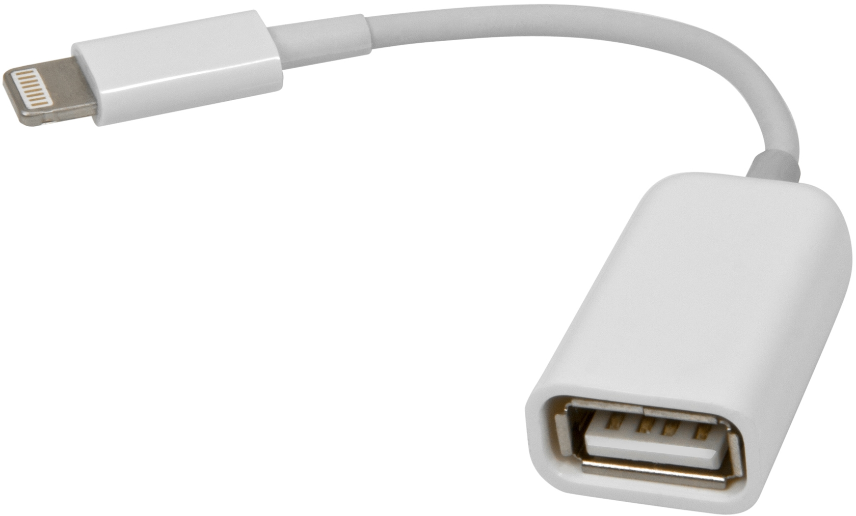 Переходник OTG Apple Lighting(M)—USB, 0.08 м